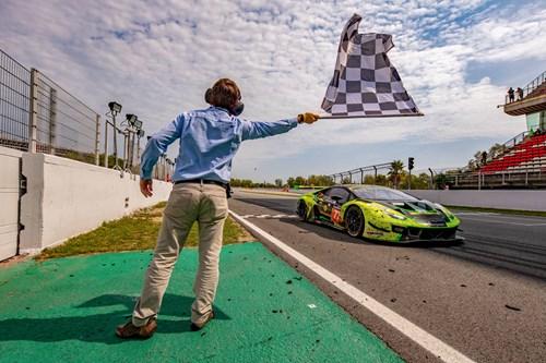 Dennis Lind i Lamborghini til 24H Barcelona 2019
